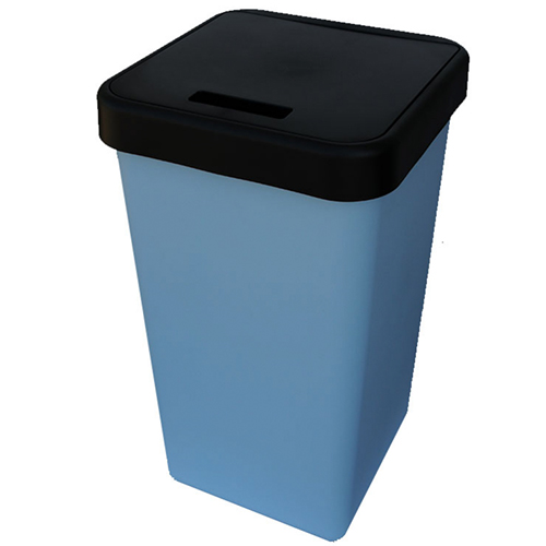 Kitchen Recycling U0026 Segregation Bin In Powder Blue